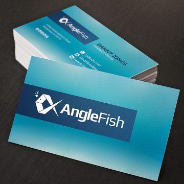 Έγχρωμες επαγγελματικές κάρτες