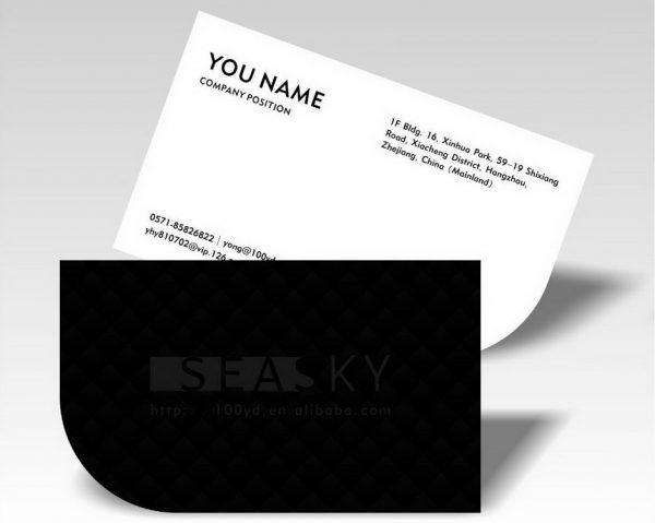 Επαγγελματικές κάρτες με ειδικό σχήμα (κοπτικό)