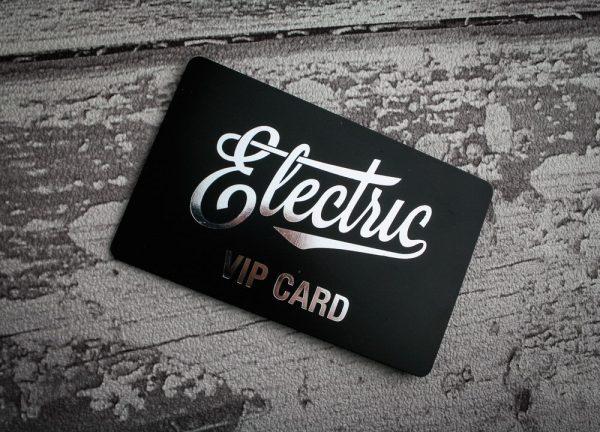 Επαγγελματικές κάρτες με ασημοτυπία