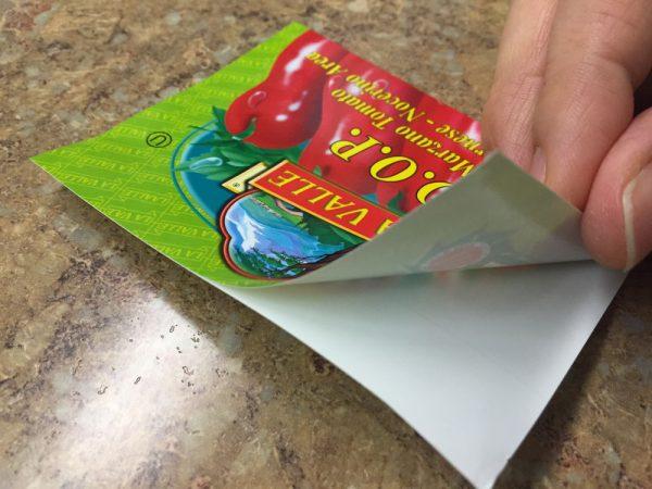 Αυτοκόλλητες επαγγελματικές κάρτες