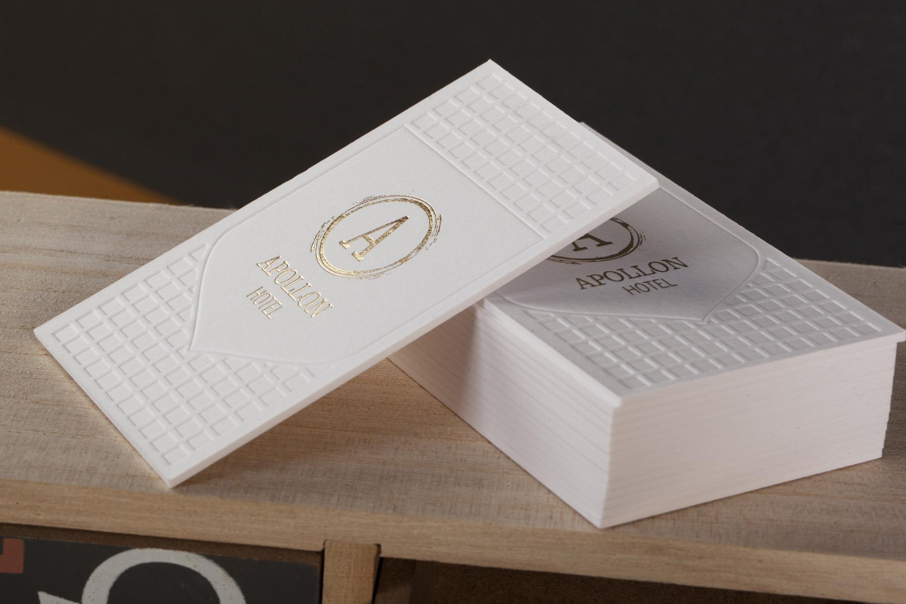 Επαγγελματικές κάρτες LetterPress